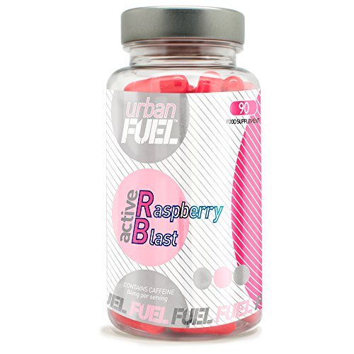 Urban Fuel Raspberry Ketone Blast | Max Strength Diet Pills | Fat Burners with Raspberry Fruit - 90 Capsules
