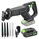 GALAX PRO Reciprocating Saw, Cordless Reciprocating Saw with...