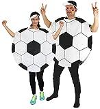 Foxxeo Fußball Kostüm für Damen und Herren für Vereine Fasching Karneval und...