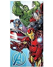 Jerry Fabrics Marvel Avengers - Toalla de baño, color azul