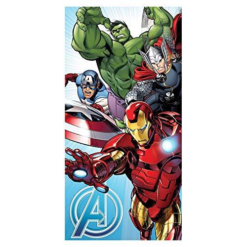 Jerry Fabrics Marvel Avengers Toalla azul