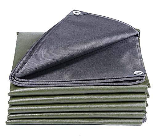 MMADD Toile imperméable épaisse en Plein air imperméable à l'eau Solaire écran Solaire Grand Camion imperméable Tissu,2mx4m