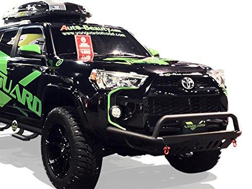 VANGUARD VGUBG-1772-1298BK For Toyota 4runner 2014-2019 Bumper Guard Black Elegant Low Bull Bar