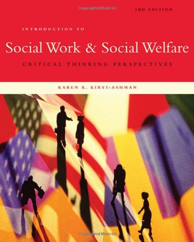Introduction to Social Work & Social Welfare: Critical...