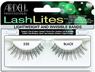 Ardell Lashlites False Eyelashes - #330 Black (Pack of 4)