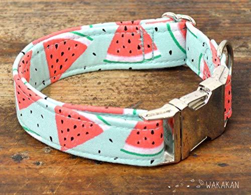 Collar Para Perro: Summer Day, Hecho a Mano en España por Wakakán: Amazon.es: Handmade