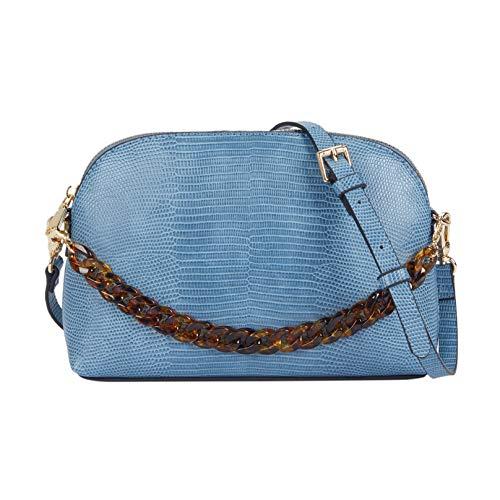 Parfois - Bolso Bandolera Grabado Animal - Mujeres - Tallas S - Azul