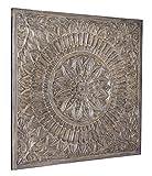 Signature Design by Ashley Ashley Furniture Signature Design Briony Medallion Wall Decor-Casual-Antique Gray