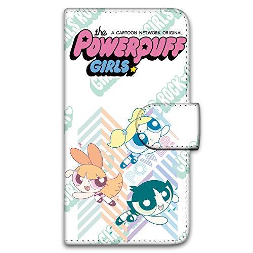 パワーパフガールズ iPhone6 Plus (5.5inch) ケース 手帳型 UVプリント手帳 デザインD-A (ppg-016) スマホケース アイフォンシックス プラス 手帳 カバー スマホカバー WN-LC269865_LL