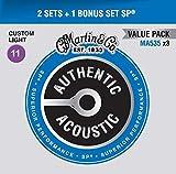 Authentic Acoustic SP - Sp, bronzo fosforoso, misura media Custom Light (11-52)