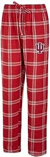 Concepts Sport Indiana University Hoosiers Men's Pajama Pants Plaid Pajama Bottoms