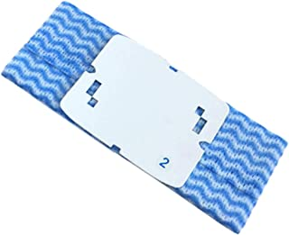 Amaae® For iRobo-t Braava 240/241jet Sweeper Accessories Disposable Mop Wipes 10PC(Color:Blue;Metal:PC)