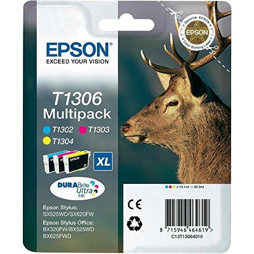 Epson C13T13064010cartuccia di inchiostro blu, rosa, giallo