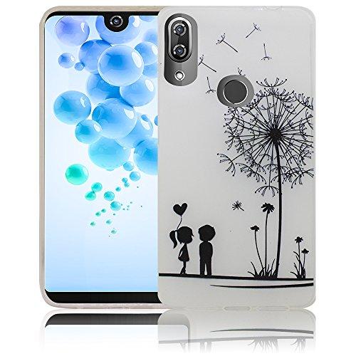 Wiko View 2 Pro Passend Pusteblume Handy-Hülle Silikon - staubdicht, stoßfest und leicht - Smartphone-Case
