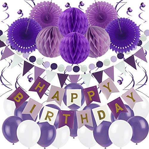 Top 10 happy birthday letters purple for 2021