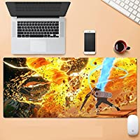 大型マウスパッド パソコン周辺機器 アニメ ナルト マウス マウスパッド キーボードパッド 超防水 ノンスリップ 1200×600×3mm-A_700X400mm