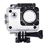 TEKCAM Professional SJ4000 WiFi Waterproof Case Protective Compatible with AKASO EK7000 EK5000/DBPOWER/Prymax 4K/COOAU/GeeKam/RUNME R2 Waterproof Sport Action Camera