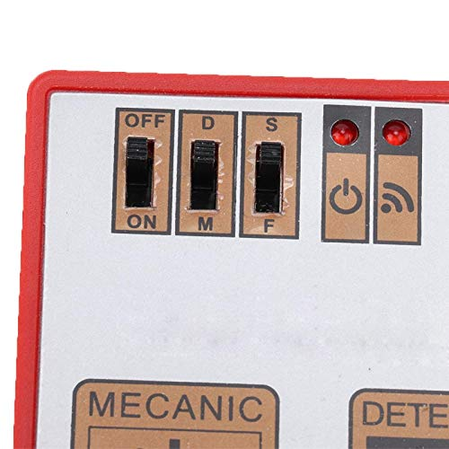 Probador de batería de botón detector de funcionamiento con botón interruptor, para relojes mecánicos, para bricolaje