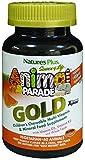 Nature's Plus SOL Animal Parade Gold-Children's Multi-Vitamin & Mineral Orange Flavor - 60 ...