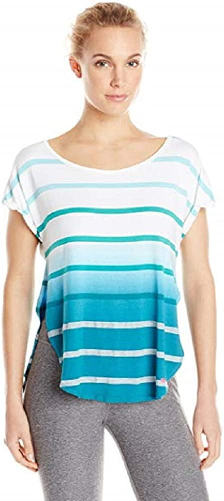 Pink Lotus Women's Signs of quality assurance The NEW before selling Wild Scoop Caution Stripe S Neck