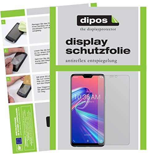 dipos I 6X Schutzfolie matt kompatibel mit Asus ZenFone Max Pro (M2) Folie Bildschirmschutzfolie
