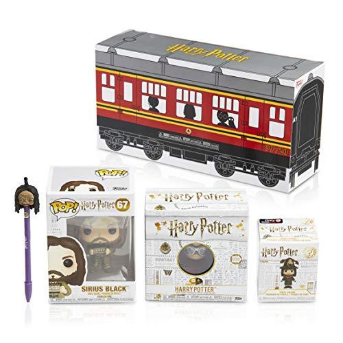 Caja misteriosa: contiene un Funko POP! Harry Potter + POP! Pen Topper + Mystery Mini + 5 Stars Vynil