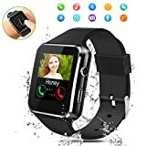 Orologi Intelligenti,Bluetooth Smartwatch,Sport Smart Orologio con Slot per scheda SIM TF Orologio Intelligente per Donna Uomo Bambino,Sleep Detection,Activity Tracker Smartwatch per Android e iOS