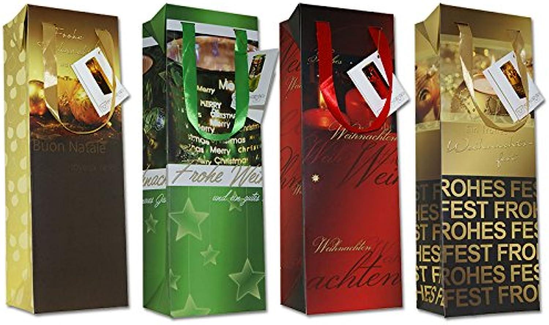 Diverse 30 Geschenkboxen Weihnachten Flaschentüte Box 35x12x9 Weihnachtstüte Weihnachtstüte Weihnachtstüte 22-0316-1 Weihnachtstaschen Tüten B075SDHFDX   Bevorzugtes Material  e21b5b