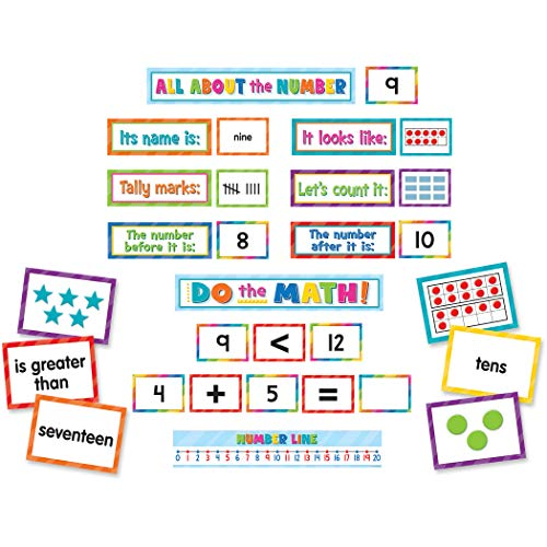 Teacher Created Resources Numbers, Counting & More Pocket Chart Cards (TCR20847)