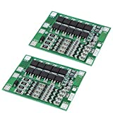 Organizer 2pcs 4S 40A Li-ion Lithium Battery 18650 Charger PCB BMS Protection Board with Balance for Drill Motor 14.8V 16.8V Lipo Cell Module