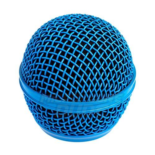 Cabezal de micrófono de malla de acero de repuesto para Shure SM58, BETA 58