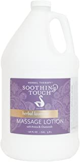 Soothing Touch W67341G Herbal Lavender Lotion, 1 Gallon
