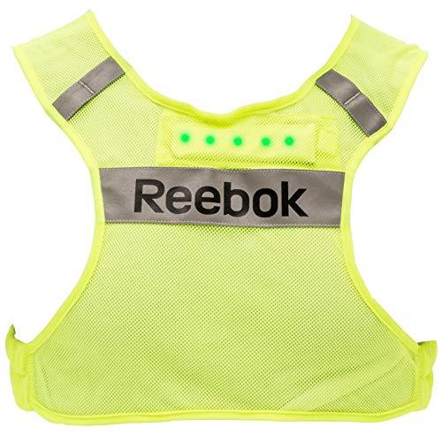 Reebok - Running-Westen für Damen in neongelb, Größe L-XL