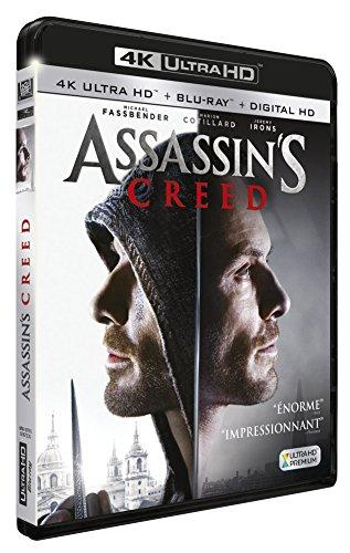 Assassins Creed [4K Ultra HD + Blu-ray + Digital HD] [4K Ultra HD + Blu-ray + Digital HD] [4K Ultra HD + Blu-ray + Digital HD]