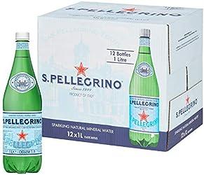 San Pellegrino Sparkling Mineral Water, 12 x 1l