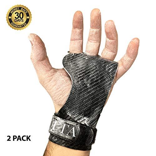 viper guanti BECUSSITTA | Paracalli Crossfit Uomo Donna Super Grip | Guanti Protezione Palestra | Hand Grips Professionale Pull ups Barra Trazioni Kettlebell Calisthenics Manubri Antiscivolo (M)