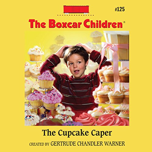 The Cupcake Caper audiobook cover art
