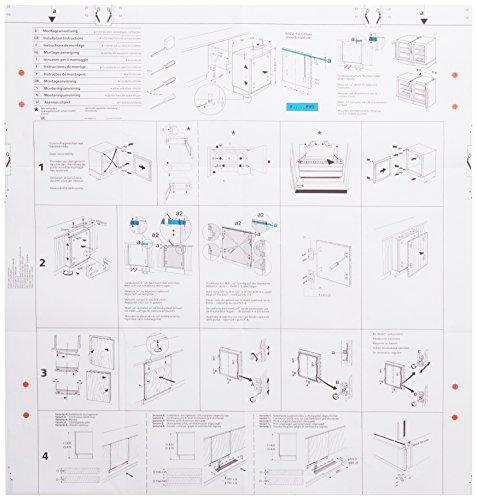 Bauknecht Beko Diplomat Ignis Ikea Integra Tecnik Whirlpool koudetechniek gereedschap montagesjabloon. Origineel onderdeelnummer 481231018197