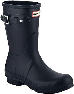 [ハンター] レインブーツ 長靴 ブーツ レディース WOMENS ORIGINAL SHORT BOOT WFS1000RMA (hnt001) [並行輸入品]