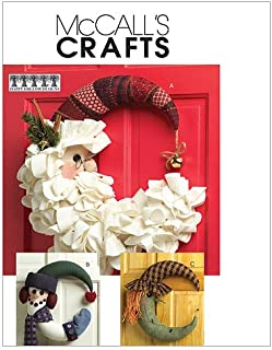 McCall's Patterns M5205 Seasonal Decorations, One Size Only