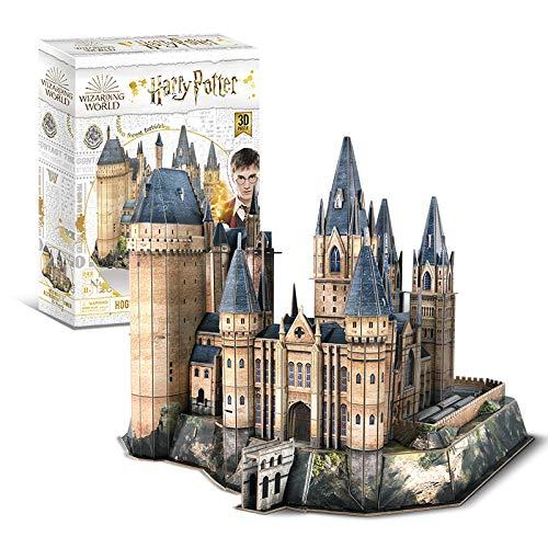 4D Cityscape Harry Potter Astronomía Paper 3D Puzzle Standard, Multicolor (51062)
