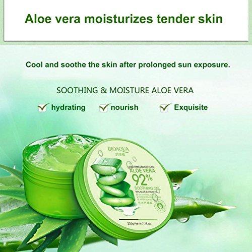 WSX Anti Acne Treatment Scar Removal Face Cream Whitening Moisturizing Aloe Vera Gel for Facial Care Face Mask