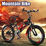 Sannysis 24 in Outroad Mountain Bike,Lightweight Mini Folding Bike,Adult Folding Bicycle Student Car for Adults Men and Women