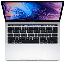 "Apple 13"" MacBook Pro with Touch Bar, Intel Core i5 2.4GHz, Plus 655, 16GB RAM, 512GB SSD, Silver (Mid 2019)"