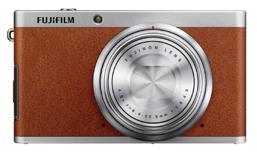 Fujifilm XF1 12 MP Digital Camera with 3-Inch LCD (Brown)