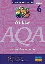 A2 Law AQA: Unit 6: Concepts of Law