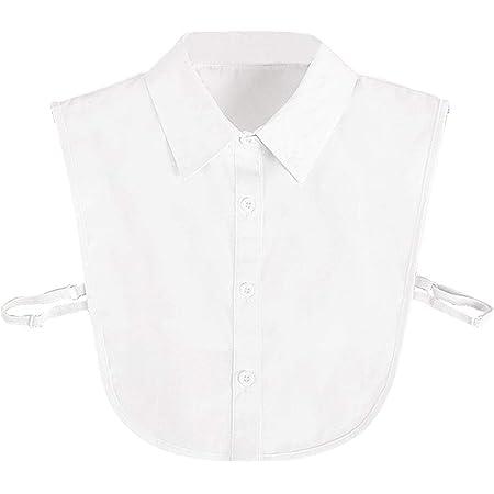 4 Collares Falsos Blusa Desmontable Dickey Cuello de Medias ...