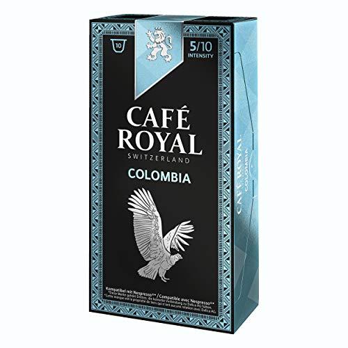 Café Royal Single Origin Colombia, Kaffee, Röstkaffee, Kaffeekapseln, Nespresso Kompatibel, 100 Kapseln