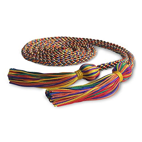 Endea Graduation Single Honor Cord (Rainbow)