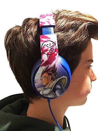 Le casque audio Dragon Ball Z
